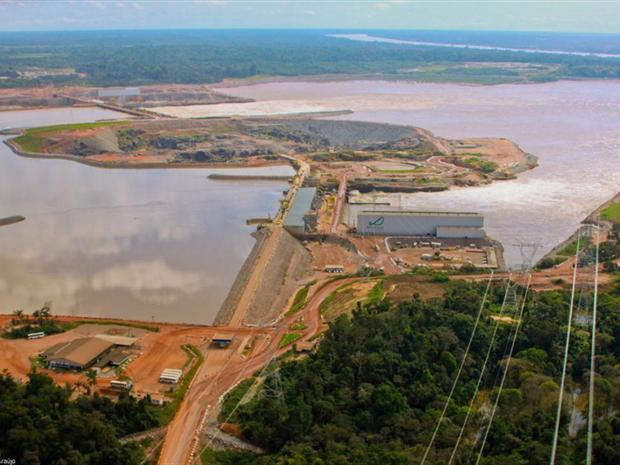 Usina Hidrelétrica Santo Antônio começou a gerar energia em março deste ano (Foto: Santo Antônio Energia/Divulgação)