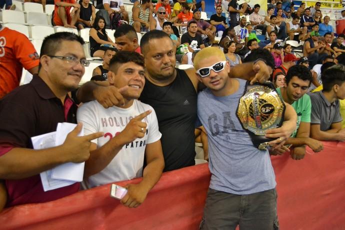 Marcos Loro em Manaus (Foto: Antônio Barros Jr/Sejel)