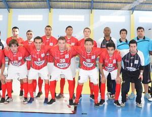 Futsal Pindamonhangaba 2012 (Foto: Luis Claudio Antunes/PortalR3)