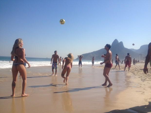 Rio tem um dos dias mais quentes do inverno (Foto: Matheus Rodrigues/G1)