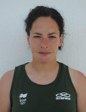 Inge Vermeulen, goleira da seleção brasileira de hóquei sobre grama (Foto: Divul/CBHG)