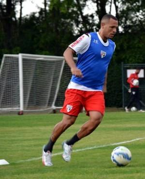 São Paulo treino Luis Fabiano Bruno (Foto: Érico Leonan / saopaulofc.net)