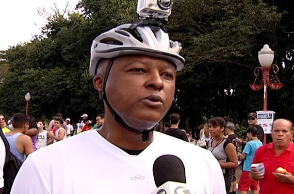 O Gerente de na Corrida das Estações da TV Rio Sul (Foto: Arquivo/ TV Rio Sul)