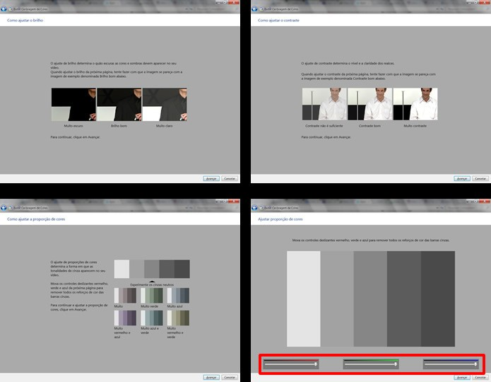 Adeque figuras a informações prévias, ajustando a nitidez da imagem de monitor em mais três configurações (Foto: Reprodução/Daniel Ribeiro)