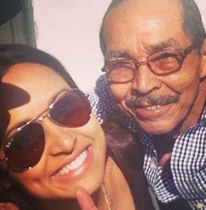 Thaíssa Carvalho: 'Meu pai me busca nas festas' (Arquivo Pessoal)