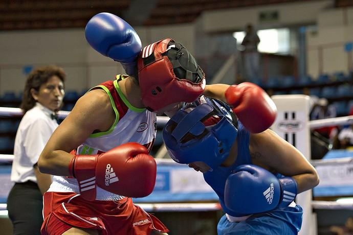 Marlen Esparza Sulem Urbina boxe (Foto: AFP)