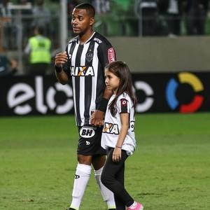 Robinho e Leandro Donizete  Atlético-MG; Independência (Foto: Divulgação/CAM)