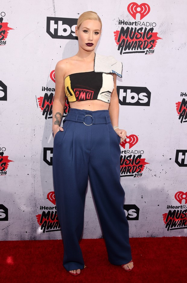 Iggy Azalea no iHeartRadio Music Awards (Foto: Getty Images)