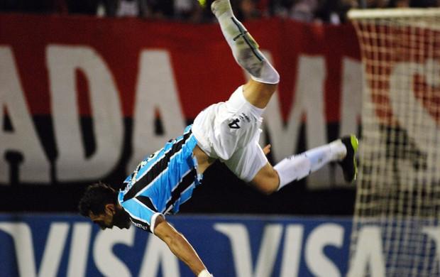 Rhodolfo, Grêmio, comemoração (Foto: EFE)