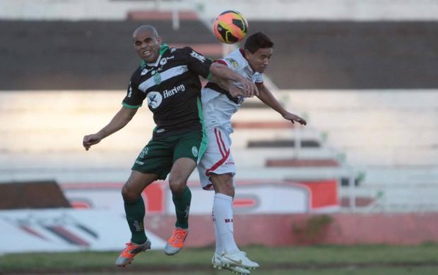 Alessandro Botafogo-SP x Metropolitano Série D (Foto: Agência Botafogo)