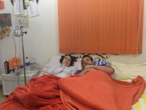 Irmãos têm doença rara e sofrem com sintomas do HSAN (Foto: Arquivo Pessoal/ Felipe Saúda)