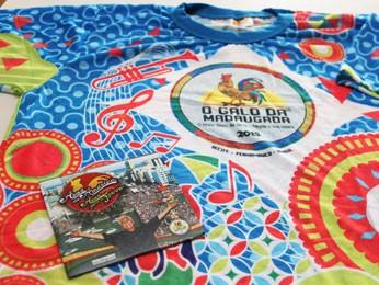 Camisa e CD do carnaval 2015 foram apresentados nesta terça para a imprensa (Foto: Divulgação/ Galo da Madrugada)