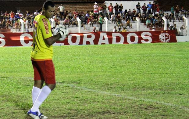 Neto, goleiro do Piauí (Foto: Josiel Martins)