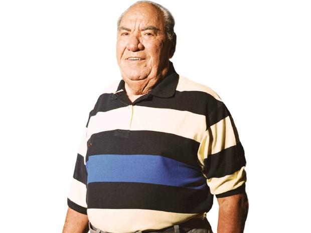 Samuel Klein, em imagem de destaque na página que traz seu perfil no site das Casas Bahia (Foto: Divulgação)