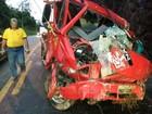 Acidente deixa 4 feridos na BR- 262, em Marechal Floriano, ES