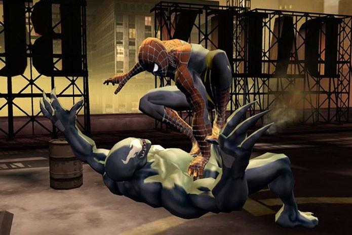 O Aranha é um dos lutadores de Marvel Nemesis: Rise of the Imperfects (Foto: Divulgação)