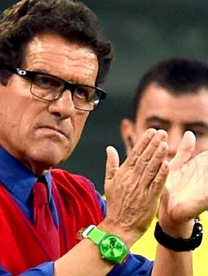 Fabio Capello jogo Argélia x Rússia