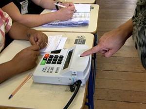 Fantástico fala sobre biometria (Foto: Rede Globo)