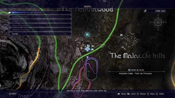Final Fantasy XV: como comprar e usar novas armas no game (Foto: Reprodução/Murilo Molina)