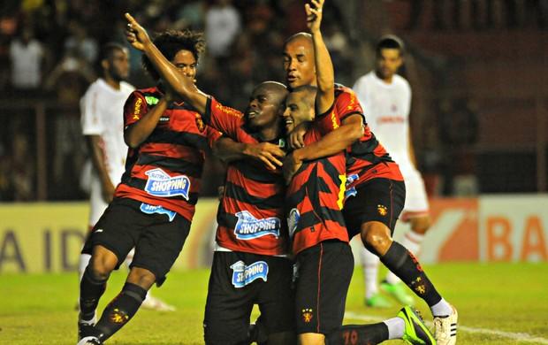 Sport x América-RN (Foto: Aldo Carneiro/Pernambuco Press)