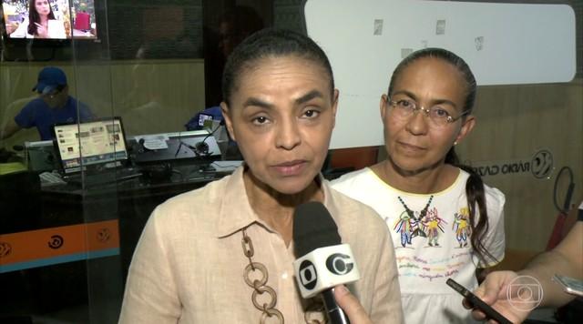Marina Silva faz campanha em Maceió nesta segunda-feira (24)