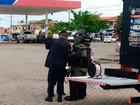 Posto de combustível é isolado após  bomba ser achada em carro, diz PM