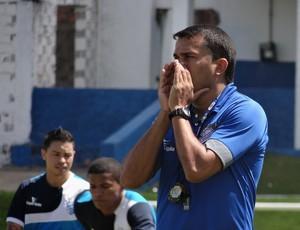 Roberto Farias, preparador físico do CSA (Foto: Leonardo Freire/GloboEsporte.com)
