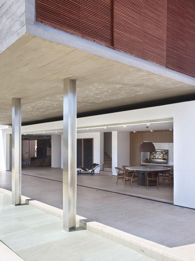 Linhas Retas Formam Lar Em Londrina Casa Vogue Casas