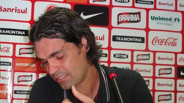 Fernandão, técnico do Inter (Foto: Tomás Hammes / GLOBOESPORTE.COM)