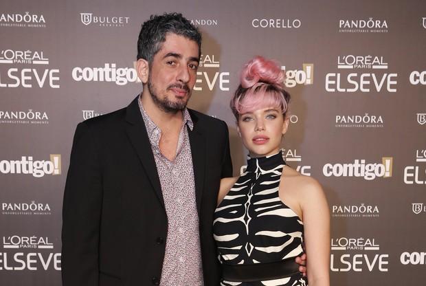 Michel Melamed e Bruna Linzmeyer  (Foto: Felipe Panfili/Felipe Assumpção e Léo Marinho/AgNews)