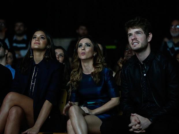 Protagonistas: Bruna Marquezine, Tatá Werneck e Maurício Destri (Foto: Raphael Dias / Gshow)