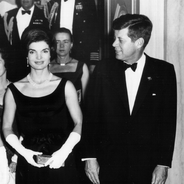 Jackie Kennedy e John F. Kennedy em 1963 (Foto: Getty Images)