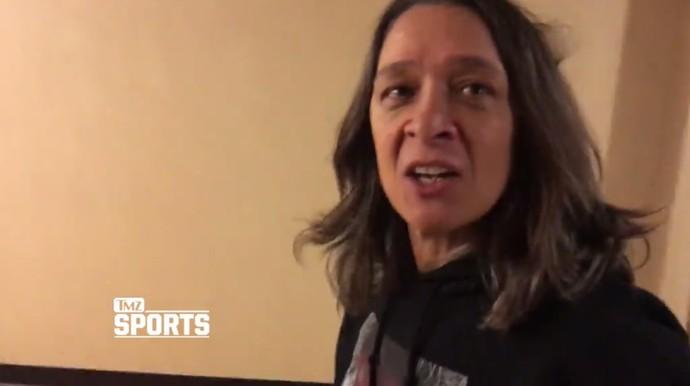 AnnMarie De Mars, mãe de Ronda Rousey, quer que filha se aposente do MMA (Foto: Reprodução/ TMZ)