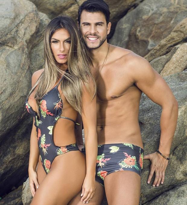 Nicole Bahls e Marcelo Bimbi (Foto: Reprodução / Instagram)