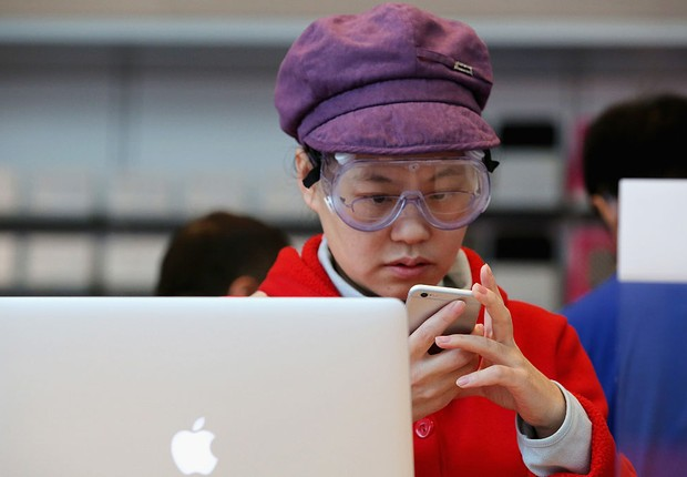 Apple; china; iphone; ipad (Foto:  Feng Li/Getty Images)