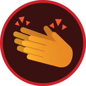 Emoji palmas (Foto: Gshow)