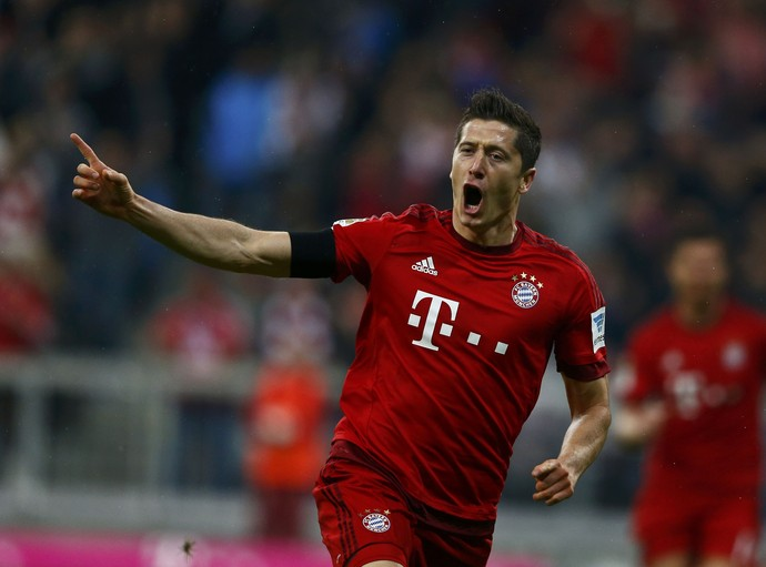 Lewandowski Bayern de Munique (Foto: Reuters)