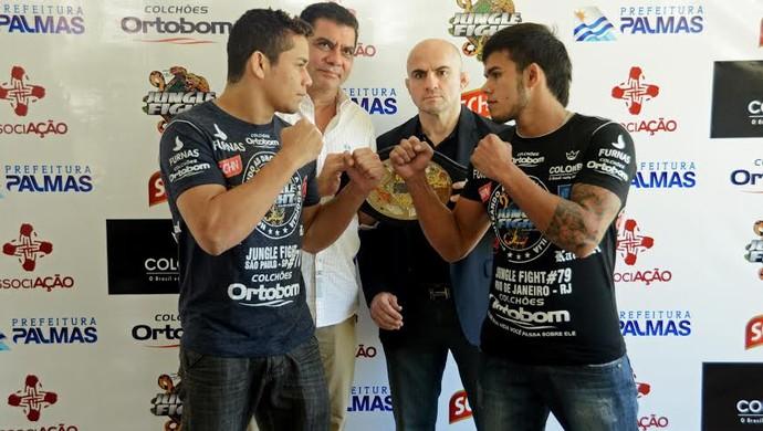 Jungle Fight Palmas luta principal (Foto: Júnior Suzuki)