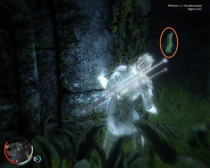 Procure por Uruks de aura verde para maiores informações (Foto: Reprodução/Paulo Vasconcellos)