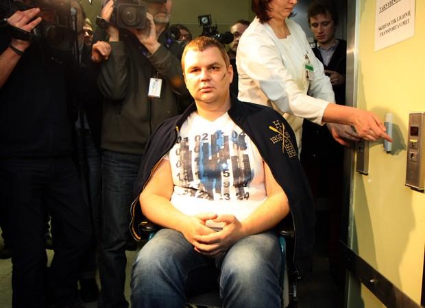 Opositor ucraniano diz que foi torturado (Foto: Petras Malukas/AFP)