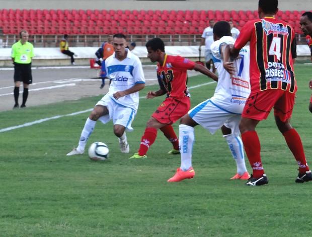 CSA 6 x 0 Sport Atalaia (Foto: Viviane Leão/GLOBOESPORTE.COM)