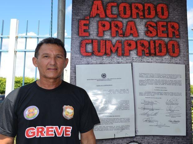 Francisco Correia acredita que Governo Federal está retaliando a categoria (Foto: Marina Fontenele/G1)