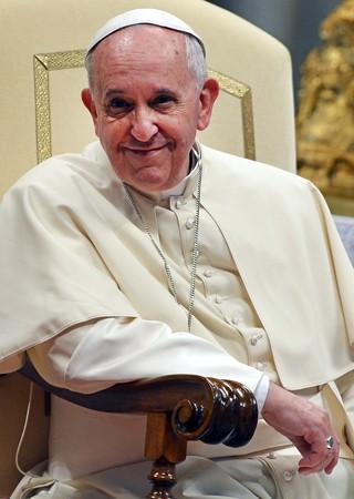 Neste sábado (8), Papa participou de celebração na Basílica de São Pedro (Foto: Gabriel Bouys/AFP)