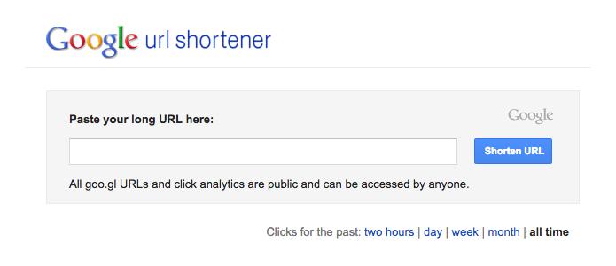Bloqueio pode desaparecer com encurtamento de URL do Google (Foto: Reprodução/Paulo Alves)
