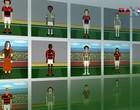 Tente acertar quem são os atletas que fizeram história (arte esporte)