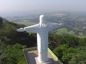 Cristo Redentor de São Pedro (SP) (Foto: Pedro Gil/Prefeitura de São Pedro)