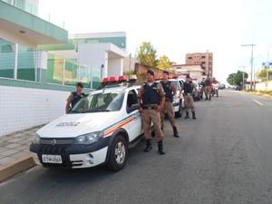 Operação Natalina da Polícia Militar em Divinópolis (Foto: Polícia Militar/ Divulgação)