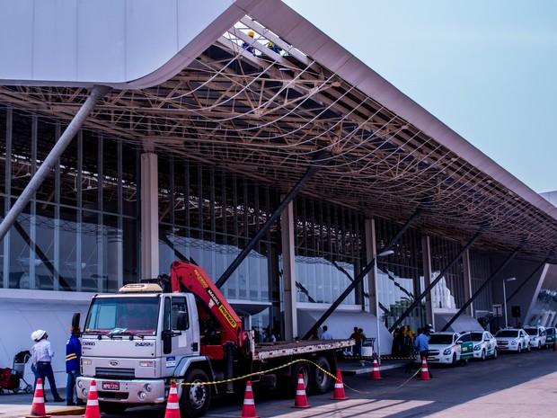 Aeroporto Marechal Rondon, em Várzea Grande, região metropolitana de Cuiabá (Foto: Rafaella Zanol - Gcom/MT)