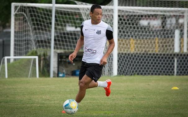 Ricardo Oliveira é a esperança de gols santista (Foto: Ricardo Saibun / Divulgação Santos FC reprodução Globoesporte.com)