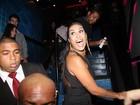 Ex-participantes do 'Big Brother Brasil 15' se divertem em festa após a final do programa